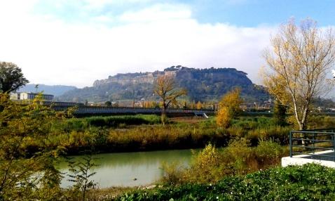 Orvieto vista da Ciconia