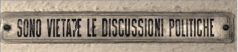 sono-vietate-le-discussioni-politiche
